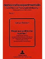 Wege Aus Politischer Apathie?: Organisierte Formen Gesellschaftspolitischer Aktivierung ALS Problem Der Sozialdemokratie in Schweden Und Der Bundesrepublik Deutschland