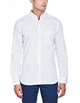 French Connection Men's Cotton Casual Shirt