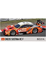 Bugzees64 Eneos Sustina Rc F No.6 Super Gt 2014 White Red Orange 1/64 Scale Plastic Model Figure Detectives Race Super Car Rally Formula Vehicle Toy Table Decor Grand Tourer Touring Bugzees