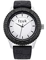 French Connection Fcuk Fc1160B French Connection, Ladies Black Silicone Strap Watch With Silver Dial - Fc1160B