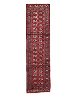 Rug Republic One Of A Kind Bokhara Hand Knotted Rug, Bokhara Red/Multi, 2' 8
