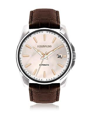 K&BROS Reloj 9474 (Marrón Oscuro)