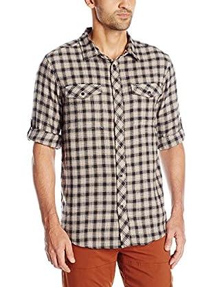 Craghoppers Camisa Hombre Wanderhemd Kiwi Check Langarm