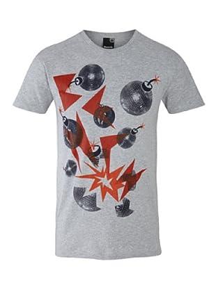Bench T-Shirt Glitterbomb (medium grey marl)
