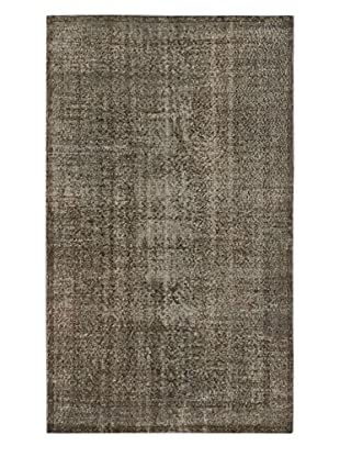 eCarpet Gallery One-of-a-Kind Hand-Knotted Anatolian Rug, Grey, 5' 5