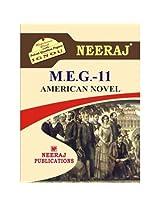 MEG11-American Novel (IGNOU help book for MEG-11 in English Medium)