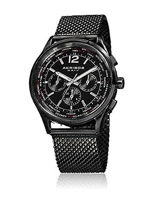 Akribos XXIV Reloj con movimiento cuarzo suizo Man AK716BK 42 mm