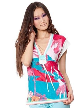 Custo Camiseta Viva Field (Multicolor)