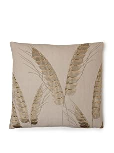 "Design Accents Wheat Husk Throw Pillow, Beige, 20"" x 20"""