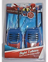 The Amazing Spider Man Night Talkies/Walkie Talkies With Built In Flashlight, Ages 5+