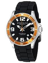 Stuhrling Original Aquadiver Analog Black Dial Men's Watch - 395R.33I61