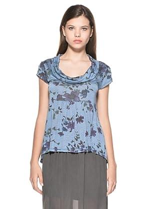 Eccentrica Camiseta Niamh (Azul Denim)