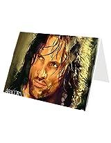 Aragorn Greeting Card by Vivek Nag