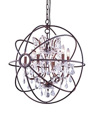 Urban Lights Hemisphere Pendant, Small, Bronze