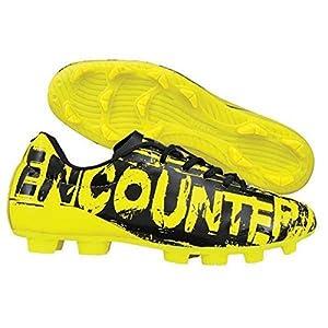 Nivia Men's Encounter Yellow Black Football Stud Shoes - 7 Uk