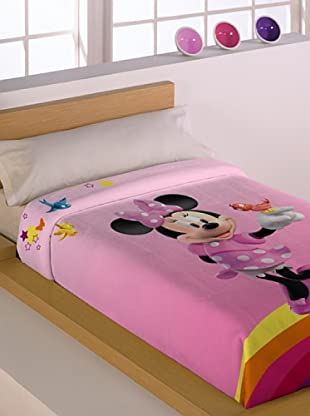 Disney Home Coperta Minnie (Rosa)