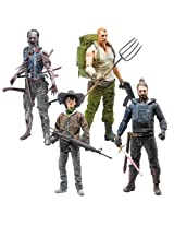The Walking Dead Comic Series 4 Action Figure Set