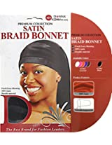 Donna Satin Braid Bonnet