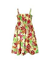 Shoppertree Girls' Dress (ST-1388_Multicolour_5-6 Years)
