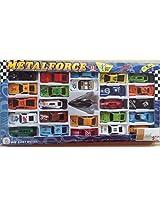 Catterpillar Set of 25 Metal Force Cars