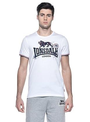 Lonsdale Camiseta Slim Fit (Blanco)