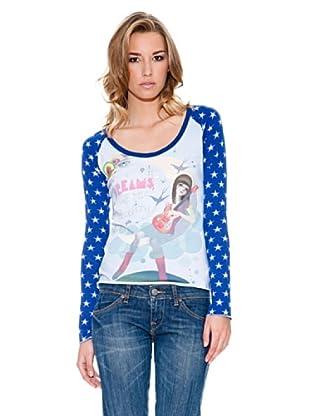 Fornarina Camiseta Stars (Azul)