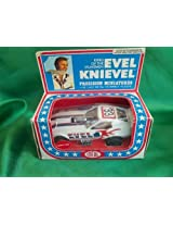 1976 EVEL KNIEVEL VINTAGE IDEAL no. 4306-7 DIE CAST FUNNY CAR in original box by ideal