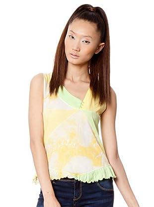 Custo Camiseta (Amarillo / Verde)