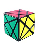 YJ Fluctuation Angle Puzzle Axis Cube Black