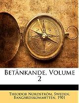 Betnkande, Volume 2
