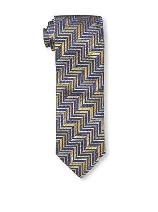 Missoni Men's Zig Zag Tie, Yellow/Blue