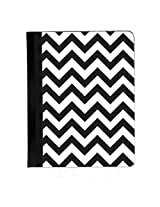 Black and White Chevron iPad 2, 3rd and 4th Generation Cover