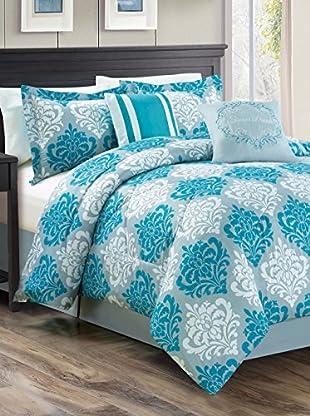 Luxury Home 6-Piece Mindy Comforter Set