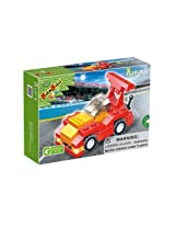 BanBao F1 Racing Building Set, Red, 54-Piece