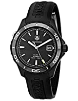 TAG Heuer Men's WAK2180.FT6027 Aquaracer Analog Display Swiss Automatic Black Watch