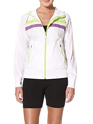 New Balance Women's Double Stripe Jacket (White)