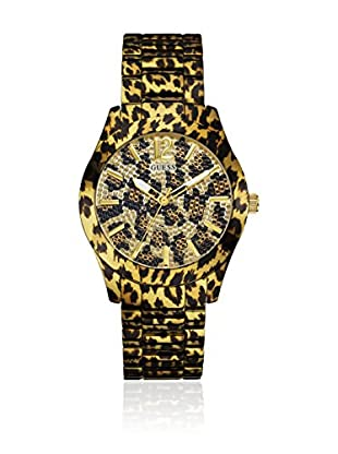Guess Quarzuhr Woman Fierce leopard 40 mm