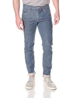 Ted Baker Men's Satara Slim Fit Selvage Jeans (Light Wash)