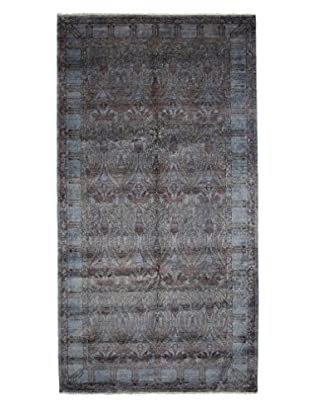 Darya Rugs Ziegler One of a Kind Rug, Dark Blue, 6' 1