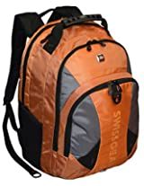 "SwissGear® Pulsar 16"" Padded Laptop Backpack - Black/Orange"