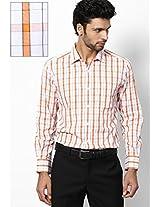 Orange Formal Shirt