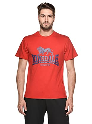 Lonsdale Camiseta Jinan (Rojo)