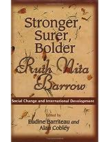 Stronger, Surer, Bolder: Ruth Nita Barrow - Social Change and International Development