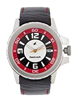 3029Sl03 Black / Multi Analog Watch Fastrack