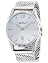 Hamilton Men's H38615255 Jazzmaster Silver Dial Watch