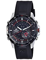Casio Edifice Analog-Digital Black Dial Men's Watch - ERA-200B-1AVDR (EX107)