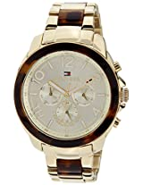Tommy Hilfiger Analog Gold Dial Women's Watch - TH1781394J