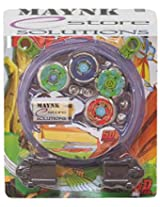 5D System Beyblade Stadium Battle With 4 Beyblades & 2 Launchers