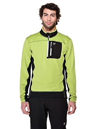 Black Wolf Ripstop Fleece Felpa (Verde)