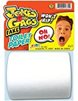 Jokes And Gags Fake Toilet Paper